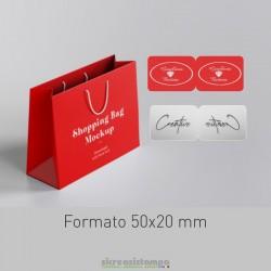 5020 Etichetta chiudipacco...