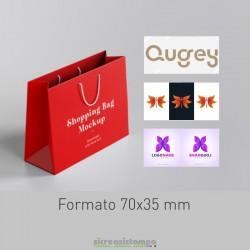 7035 Etichetta chiudipacco...
