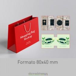 8040 Etichetta chiudipacco...