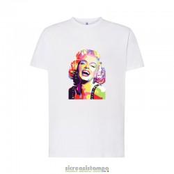 T-Shirt Pop Art Marilyn