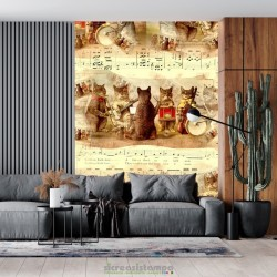 Carta da parati - Cats 5844490