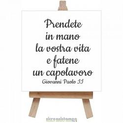 Bomboniera 10x10 cm - Frase...