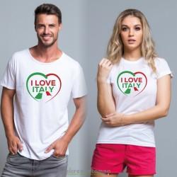 T-Shirt I Love Italy