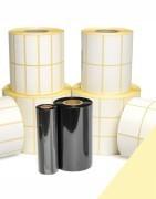 Etichette adesive in PPL Polipropilene Bianco