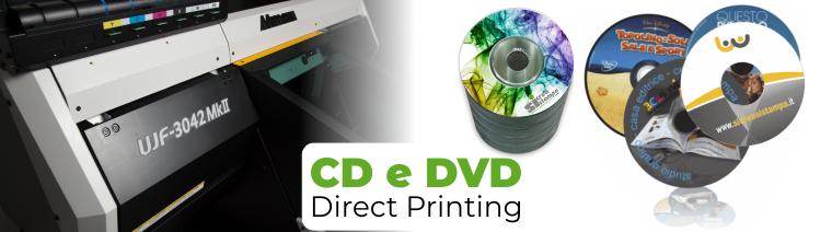 Stampa diretta CD e DVD